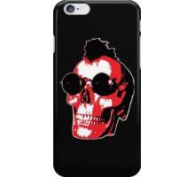 Mohawk Skull - Rock'n'Roll iPhone Case/Skin