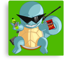 Squirtle MLG Canvas Print
