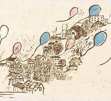 Balloons Skyway by Ayu Tomikawa