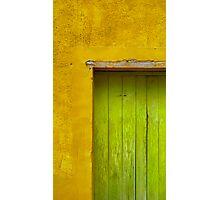 Puerta Verde Photographic Print