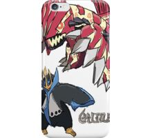 Andy W's Primal Groudon & Empoleon iPhone Case/Skin
