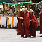 Shopping Monks by Tomas Abreu