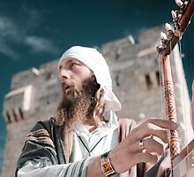 Faces of Jerusalem 1082 by Zohar Lindenbaum