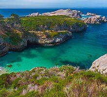 Big Sur Point Lobos State Park China Beach by photosbyflood