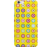 Mods dots large and yellow iPhone Case/Skin