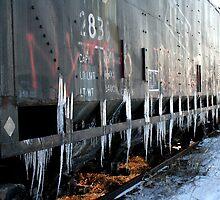 Icy Rust Bucket!  by kyndrafiasco
