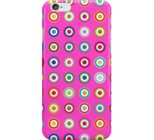 Mods dots large and pink iPhone Case/Skin
