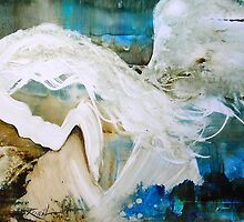 EN1010 Angel Painting by ReneaL