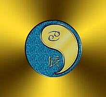 Cancer & Dragon Yang Metal by astrodesigner75