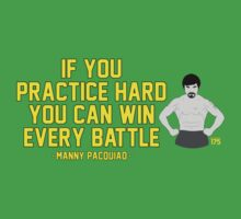 Manny Pacquiao - Practice Hard T-Shirt