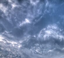 White Clouds and Sky 3 by AnnArtshock