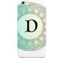 D Pastel Circle iPhone Case/Skin