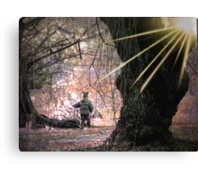 Playing with Giants Canvas Print