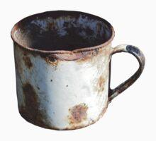 Rusty Mug by Richard Klekociuk
