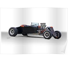 1927 Ford Roadster 'Evil's other Brother' Poster