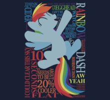 The Many Words of Rainbow Dash by AssaultWithCake