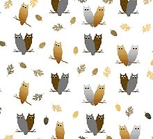 Owl Pattern by Christina Rollo