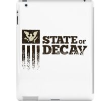 state of decay logo iPad Case/Skin