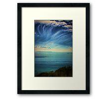 Pacific Skies Framed Print