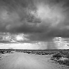 Stormy Skies on the Road to Copley by Pamela Inverarity