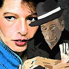 me & the gangster  by paula cattermole artinapuddle