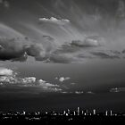 Fifteen Minutes Before Sunset - Austin, Texas. by Christopher  Newland