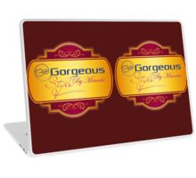 Be Gorgeous Styles By Mimmie Laptop Skin
