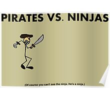 Pirates vs. Ninjas Poster