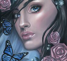 She Lived in a World of Dreams and Butterflies by Emily Luella