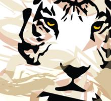 Fearless tiger Sticker