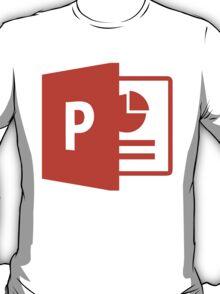Microsoft Powerpoint Logo T-Shirt