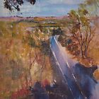 Towards Kilmore East - before the fires. Vic Australia by Margaret Morgan (Watkins)