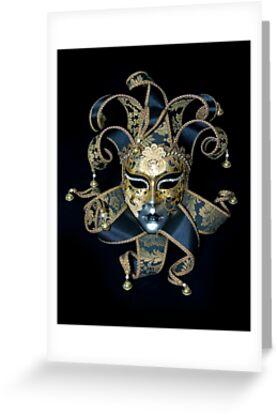 Venetian mask by Dmitry Rostovtsev
