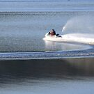 speedboat on loch lomond by emmatcb