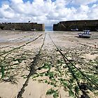 Empty Harbour - Mousehole by Susie Peek