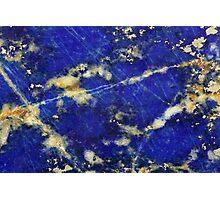 Lapis lazuli Photographic Print