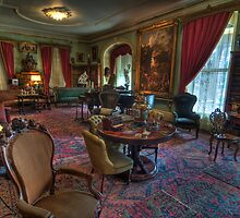 Formal Parlor Living Room 1800's Home by Cathryn  Lahm