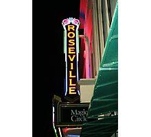 Roseville Magic Theatre Photographic Print