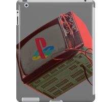 RETRO-CRT - SONY PlayStation iPad Case/Skin