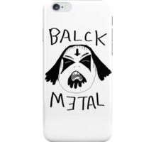 Balck Metal iPhone Case/Skin