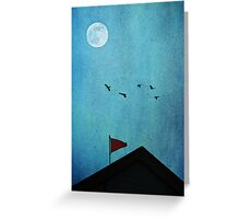 All Through the Night Greeting Card