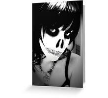 Dig Up Her Bones Greeting Card