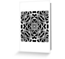 Dreams in White Satin Greeting Card