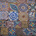 Moroccan tiles by Amanda Gazidis