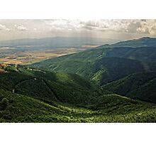 Light and Shadows, Shipka, Bulgaria Photographic Print