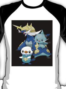 Oshawott Family T-Shirt