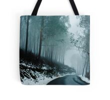 Into a cold dark place   [e] Tote Bag