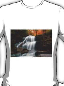 Fading October Daylight at Shawnee Falls T-Shirt