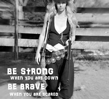 BE STRONG by Barbara  Jean