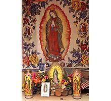 Mesilla Mary 5 - New Mexico Photographic Print